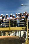Acadêmicos da FIMCA UNICENTRO visitam rede de tratamento de água em Ariquemes