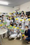 Acadêmicos de enfermagem da faculdade FIMCA-UNICENTRO, realizam visita...
